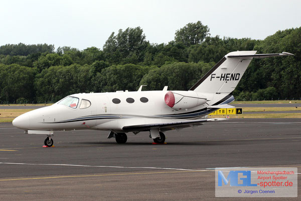 07.06.2017 F-HEND Cessna 510 Citation Mustang