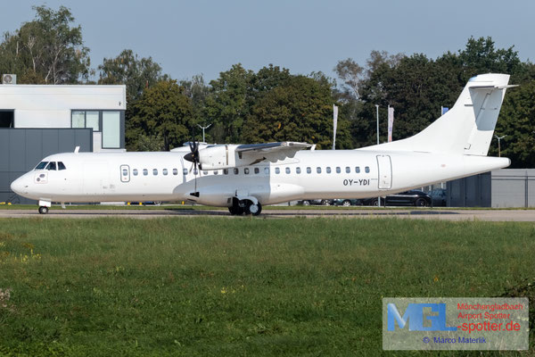 09.09.2021 OY-YDI NAC ATR 72-600 cn1265