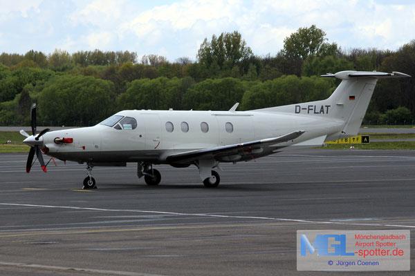 25.04.2017 D-FLAT Pilatus PC-12/47E