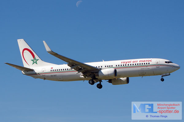 27.10.2013 CN-ROT Royal Air Maroc B737-8B6/W