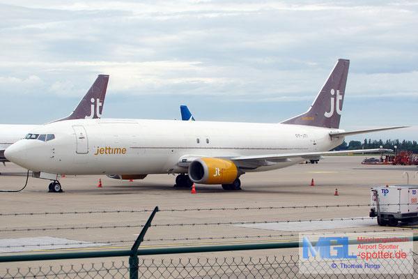 10.08.2014 OY-JTI Jettime B737-448SF