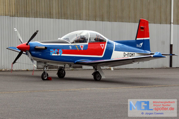 27.02.2017 D-FGMT EIS Aircraft Pilatus PC-9B