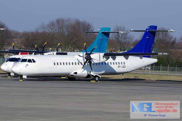 26.01.2017 OY-JZU Jettime / (SAS) ATR 72-500 cn723