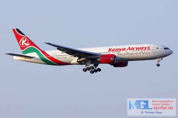 21.06.2014 5Y-KQS Kenya Airways B777-2U8ER