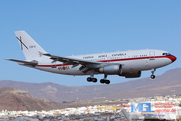 08.07.2014 T.22-2 45-51 Spain Air Force A310-304