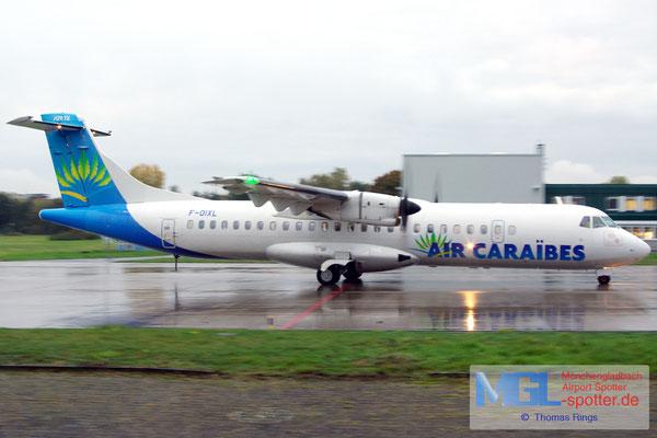 22.10.2015 F-OIXL Air Caraibes ATR 72-500 cn888