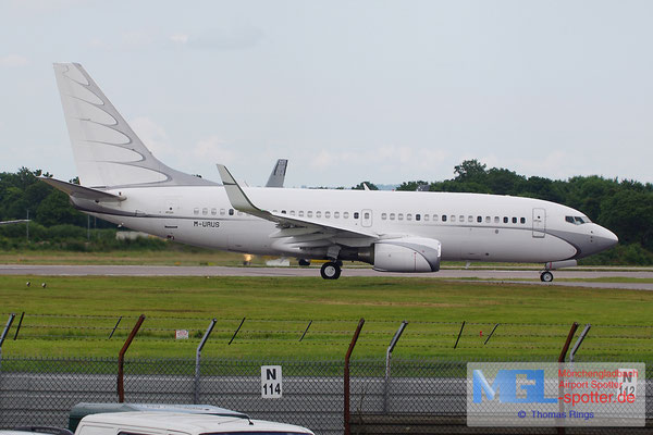 22.06.2014 M-URUS B737-7GC/W BBJ 1