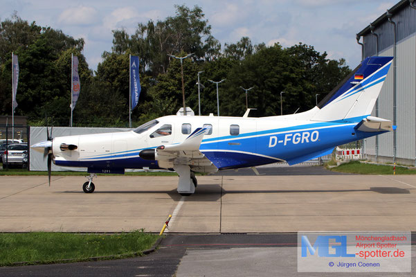30.07.2021 D-FGRO Socata TBM910