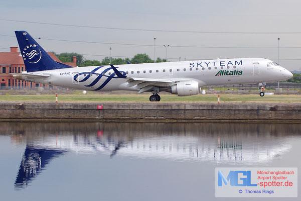 23.06.2014 EI-RNC Alitalia Cityliner / Skyteam ERJ-190STD