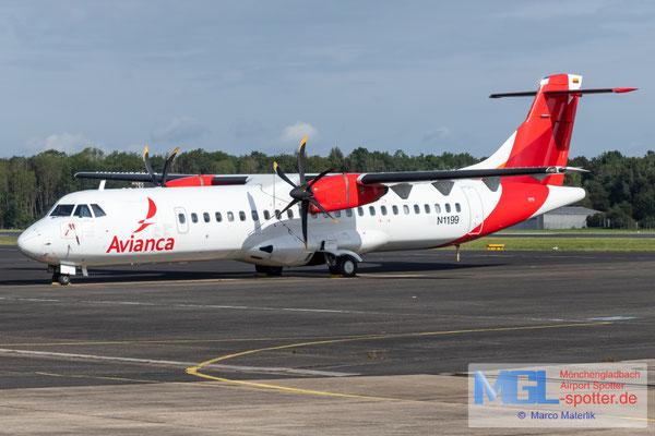 12.09.2021 N1199 Aelis Group / Avianca ATR 72-600 cn1199