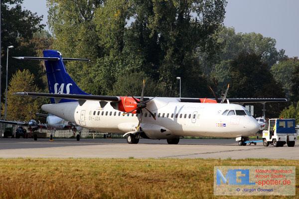 11.10.2016 OY-JZA Jettime / SAS ATR 72-600 cn1110