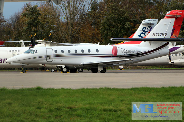 11.11.2019 N710MS Cessna 680 Citation Sovereign