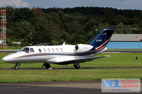 06.08.2021 D-ILWB Cessna CIT525 CJ2