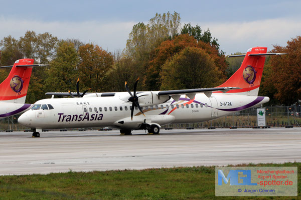 30.10.2018 2-ATRA NAC / TransAsia ATR 72-600 cn1318