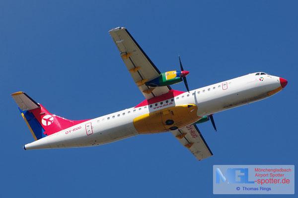 22.07.2014 OY-RUG Danish Air Transport ATR 72-202
