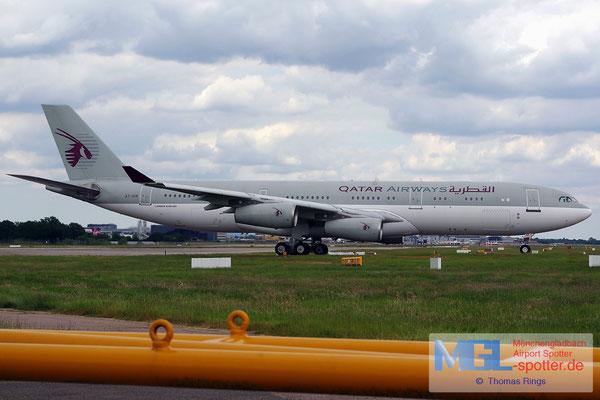 22.06.2014 A7-HHK Qatar Amiri Flight A340-211