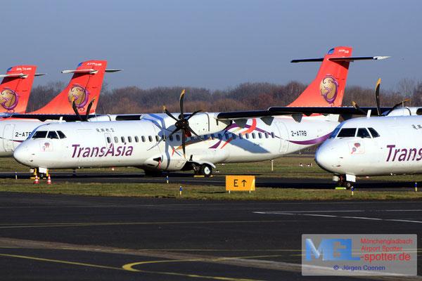 18.02.2019 2-ATRB NAC / Transasia ATR 72-600 cn1222
