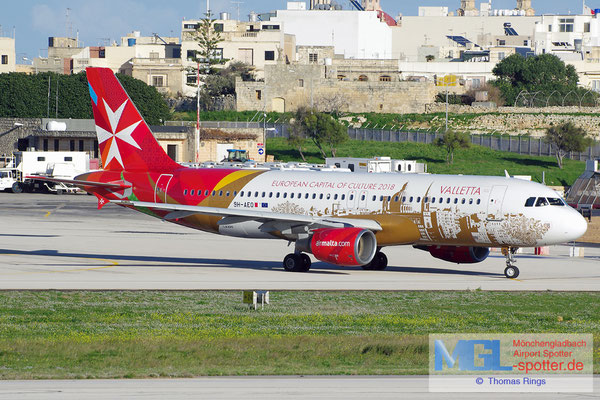 01.01.2014 9H-AEO Air Malta / Valletta 2018 A320-214