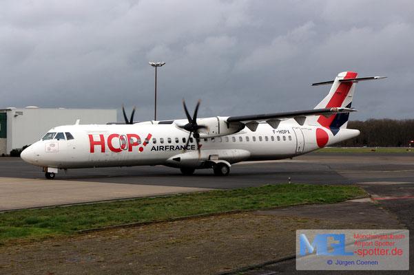 03.02.2020 F-HOPX HOP! ATR 72-600 cn1257