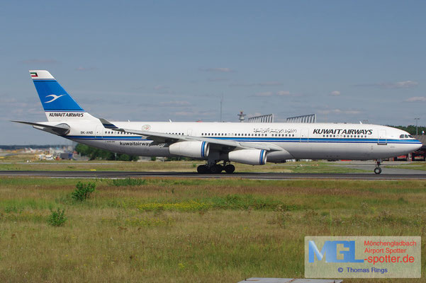 12.08.2012 9K-ANB Kuwait Airways A340-313