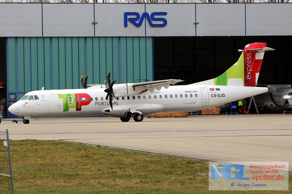 20.03.2019 CS-DJG White Airways / TAP Express ATR 72-600 cn1316