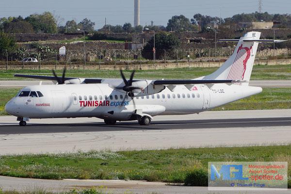 25.12.2013 TS-LBE Tunisair Express ATR 72-500