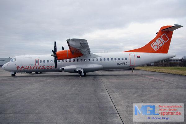 26.02.2012 D2-FLC fly540africa Angola ATR 72-202 cn483