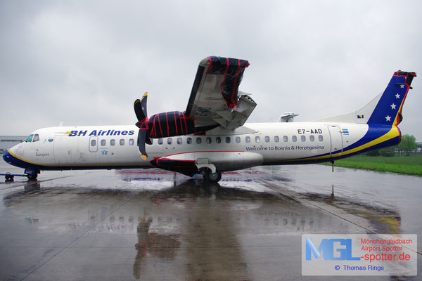 05.05.2012 E7-AAD B&H Airlines ATR 72-212 cn464