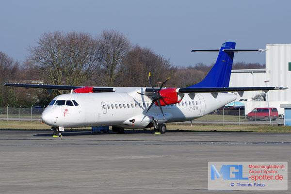 26.01.2017 OY-JZW Jettime / (SAS) ATR 72-500 cn773