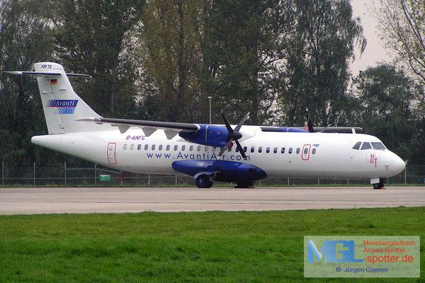 05.11.2006 D-ANFC AVANTIAIR ATR72-200