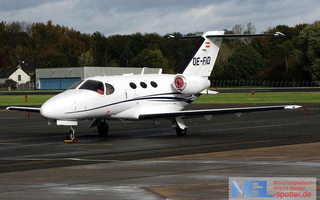 02.11.2019 OE-FID Cessna 510 Citation Mustang