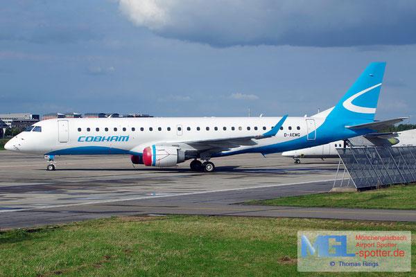 21.09.2014 D-AEMG Augsburg AIrways / Cobham ERJ-190LR