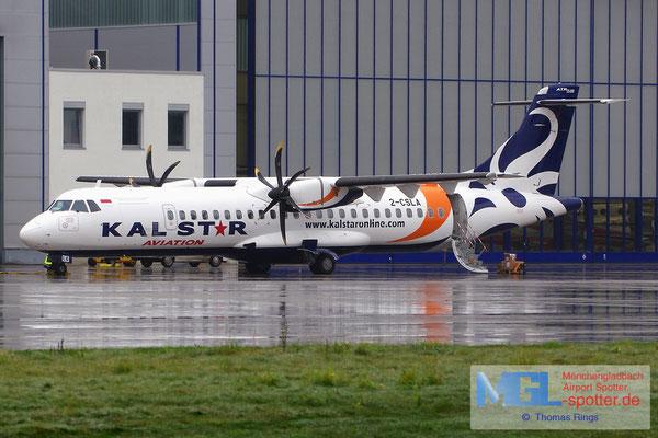 26.08.2014 2-CSLA Kalstar Indonesia / Aircraft Solutions Lux ATR 72-500 cn638
