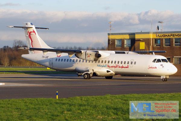 15.02.2016 TS-LBE Tunisair Express ATR 72-500 cn794