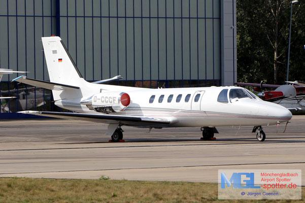 05.09.2020 D-CCCF Cessna 550 Citation II