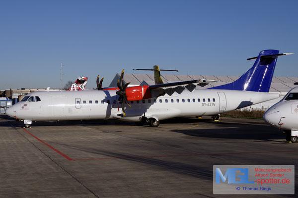 28.11.2016 OY-JZW Jettime / (SAS) ATR 72-500 cn773