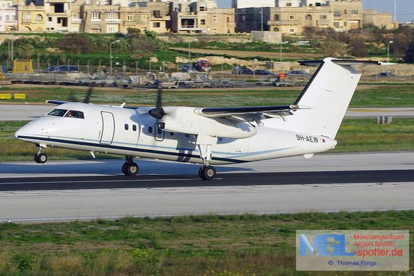 03.01.2014 9H-AEW Medavia DHC-8-102