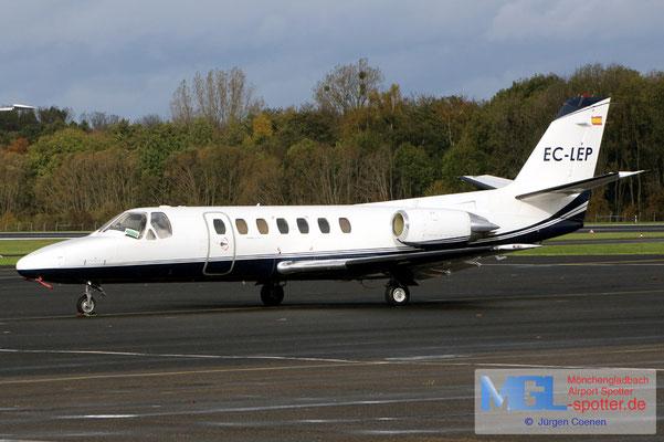 02.11.2019 EC-LEP Cessna 560 Citation V