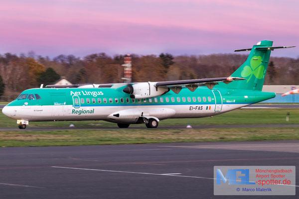 04.12.2020 EI-FAS Stobart Air / Aer Lingus Regional ATR 72-600 cn1083