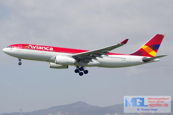 01.04.2015 N975AV Avianca A330-243
