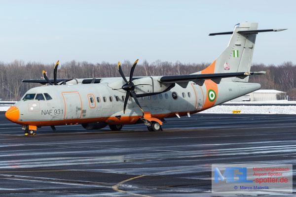 25.01.2021 NAF931 Nigerian Air Force ATR 42MP-500 cn800