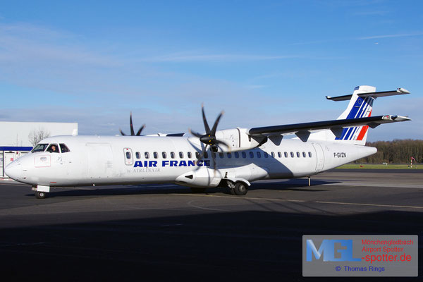 11.01.2014 F-GVZN Airlinair / Air France ATR 72-500 cn563