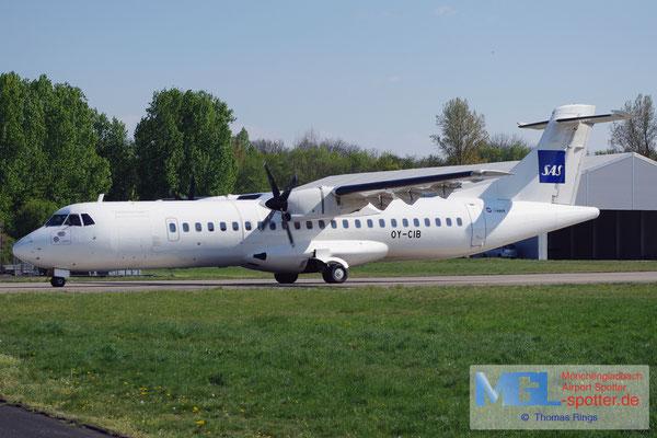 19.04.2014 OY-CIB Cimber Air / SAS ATR 72-202 cn437