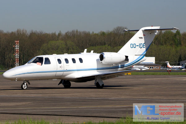 18.04.2018 OO-IDE Cessna 525 CitationJet