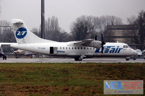 13.12.2016 T7-LBA (UTair) ATR 42-300 cn255