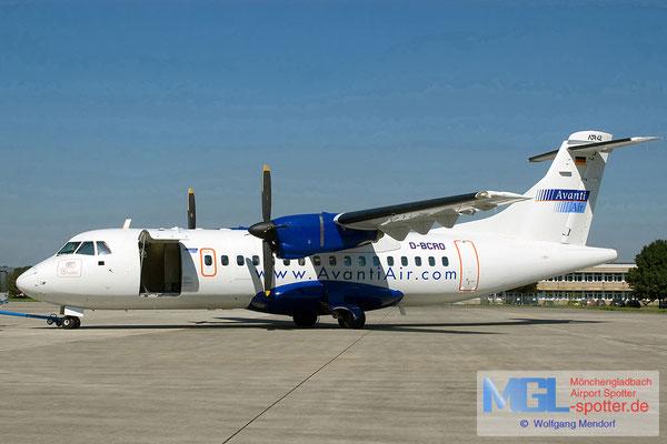 29.08.2005 D-BCRO Avanti Air ATR 42-300 cn122
