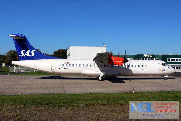 14.10.2017 OY-JZC ATR 72-600 Jettime / SAS cn1120