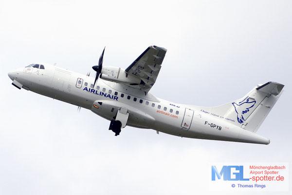 31.03.2012 F-GPYB Airlinair ATR 42-300 cn480