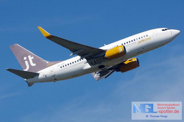 22.07.2014 OY-JTS Jettime B737-7K2/W