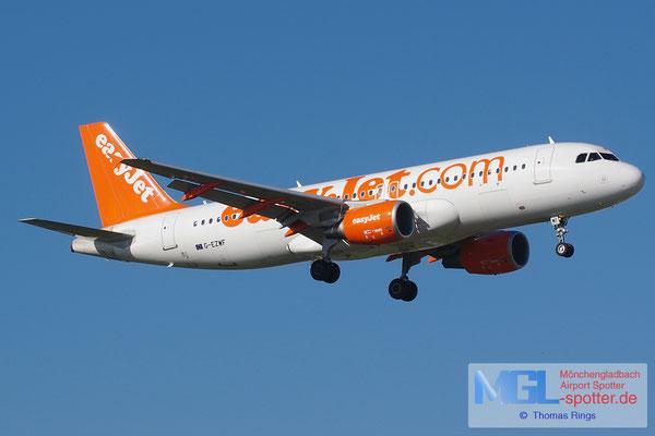 27.10.2013 G-EZWF easyjet A320-214
